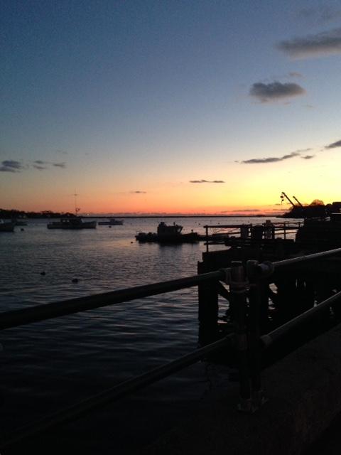 Marblehead MA harbor sunset neversaydiebeauty.com @redAllison