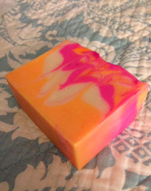 Nature Island Botanicals blood and sweet orange pink grapefruit & bergamot soap neversaydiebeauty.com @redAllison