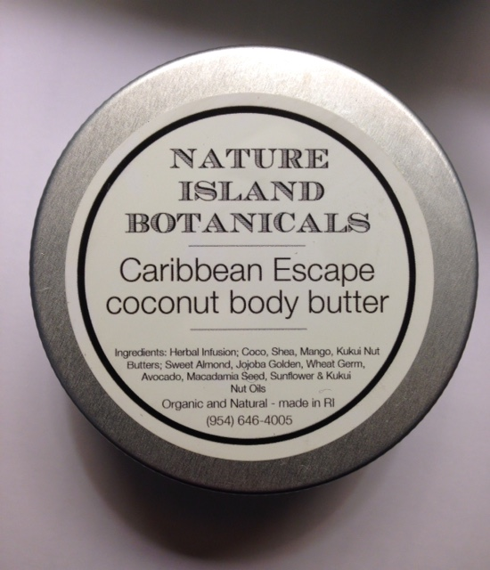 Nature Island Botanicals Caribbean Escapes Coconut Body Butter ingredients neversaydiebeauty.com @redAllison