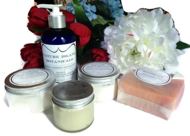 Nature Island Botanicals: Artisanal Skincare for Holiday Gifting or Pampering