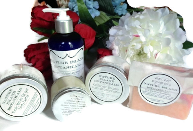 Nature Island Botanicals artisan-made skincare products neversaydiebeauty.com @redAllison