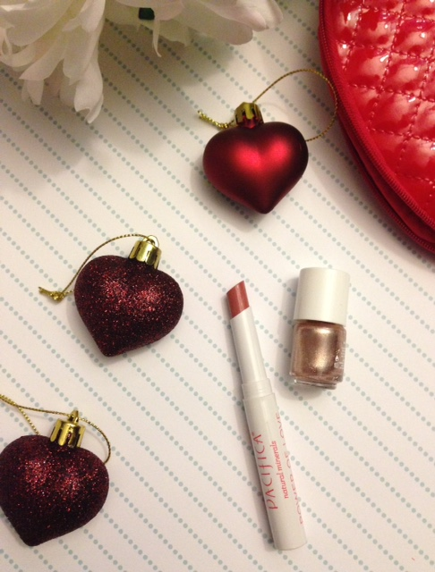 Pacifica lipstick in Nudie Red and Formula X Nail Color in Revved Up neversaydiebeauty.com @redAllison