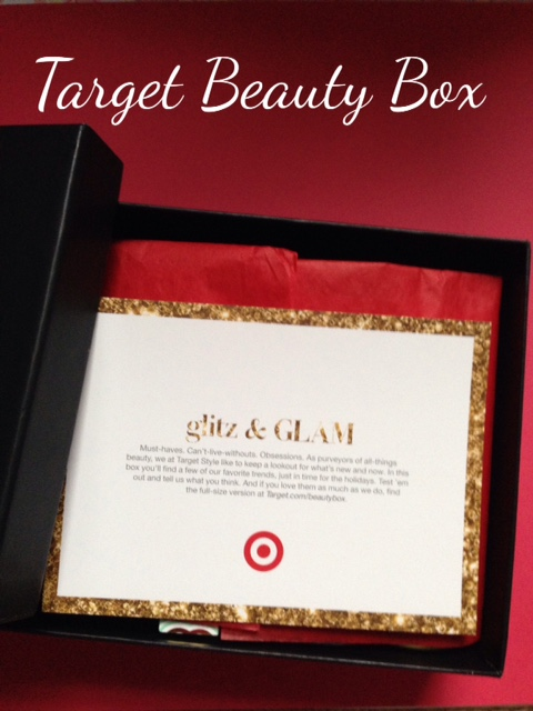 TargetStyle Glitz & Glam Beauty Box products neversaydiebeauty.com @redAllison