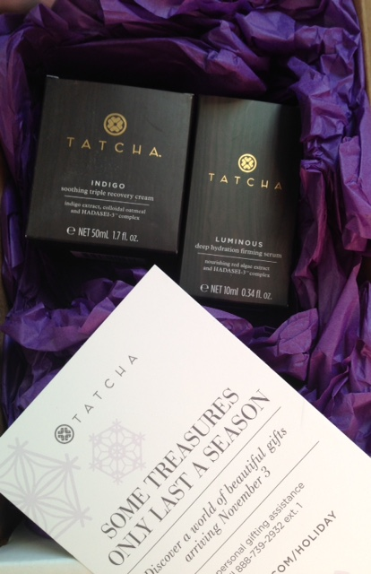 Tatcha Indigo Triple Recovery Cream and Luminous Deep Hydration Firming Serum neversaydiebeauty.com @redAllison