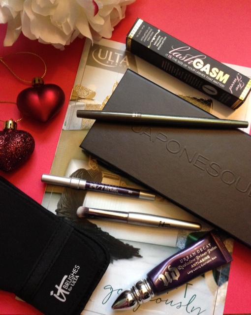 Ulta makeup used to create my holiday metallic eye look neversaydiebeauty.com @redAllison