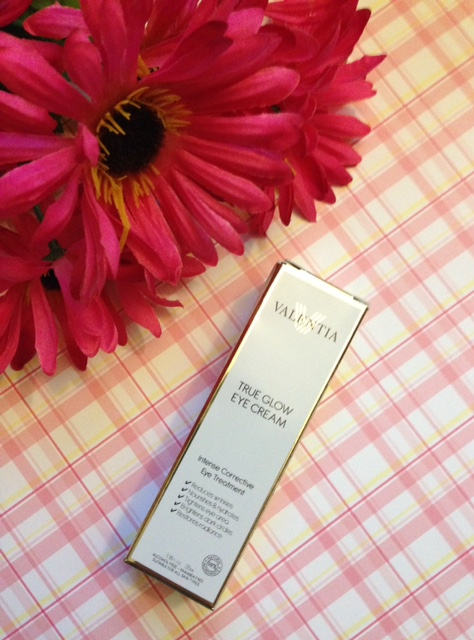 Valentia True Glow Eye Cream neversaydiebeauty.com @redAllison