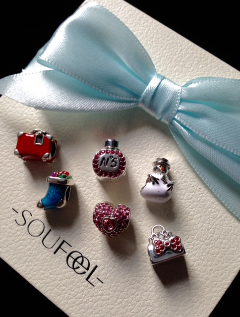 holiday charms from Soufeel neversaydiebeauty.com @redAllison