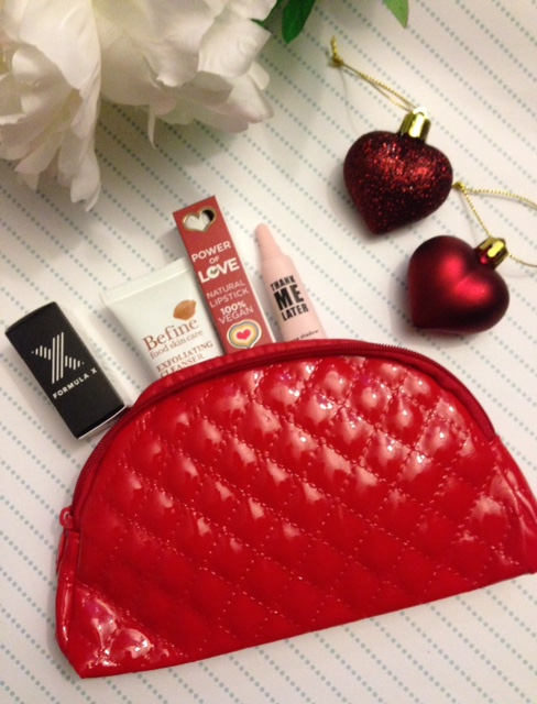 ipsy glam bag December 2015 partial contents neversaydiebeauty.com @redAllison
