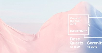 Pantone Colors of 2016 Rose Quartz & Serenity neversaydiebeauty.com @redAllison