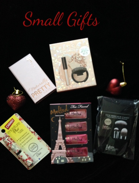 small, affordable holiday gifts neversaydiebeauty.com @redAllison