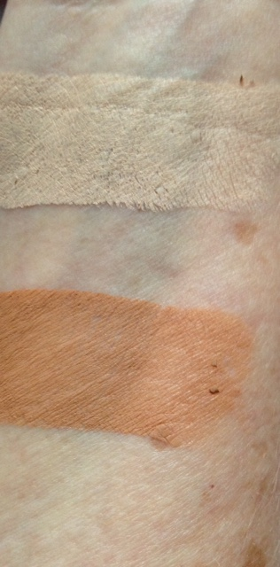 "PUR Cameo Contour ""Light"" highlighter and contour swatches neversaydiebeauty.com @redAllison"