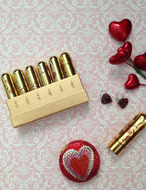 Besame Cosmetics to Oomph Up My Valentine's Day
