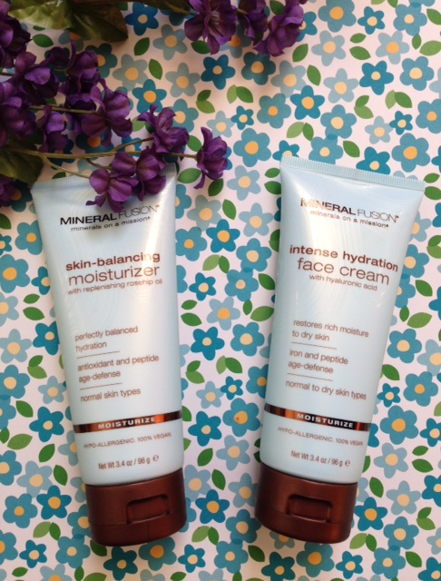 Mineral Fusion Facial Moisturizers: Intense Hydration Face Cream & Skin-Balancing Moisturizer neversaydiebeauty.com @redAllison