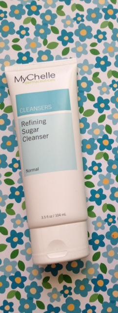 MyChelle Refining Sugar Cleanser, a cleanser & exfoliator multitasker neversaydiebeauty.com @redAllison