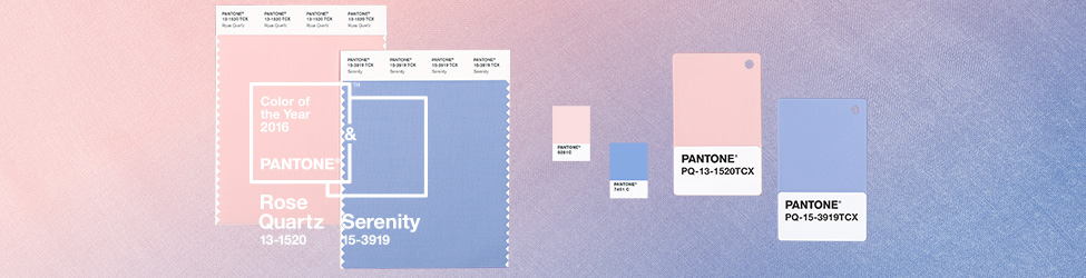 Pantone colors of 2016 Rose Quartz & Serenity neversaydiebeauty.com