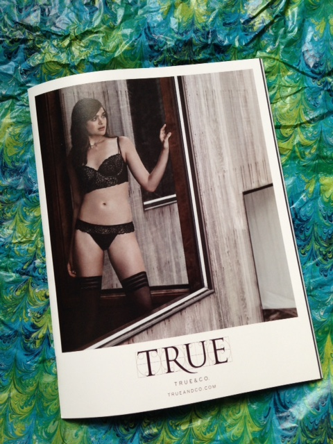True & Co. lingerie catalog neversaydiebeauty.com @redAllison