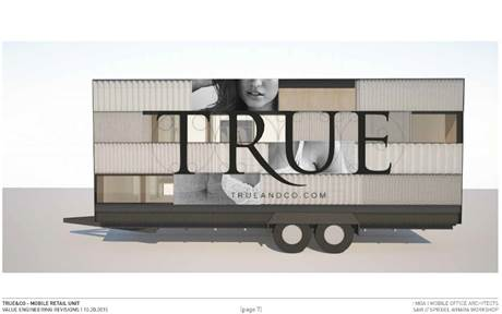 True & Co. Try-On Truck neversaydiebeauty.com