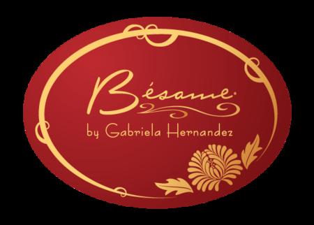 Besame Cosmetics logo neversaydiebeauty.com @redAllison