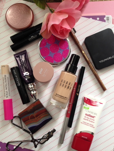 makeup used for my everyday quick makeup look neversaydiebeauty.com @redAllison