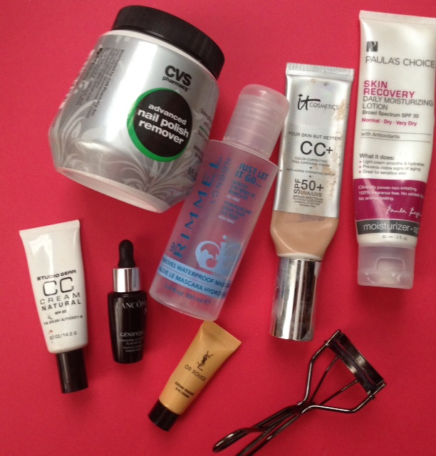 empty beauty products from December 2015 neversaydiebeauty.com @redAllison