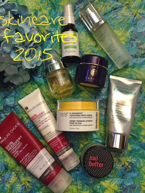 My favorite skincare products from 2015 neversaydiebeauty.com @redAllison
