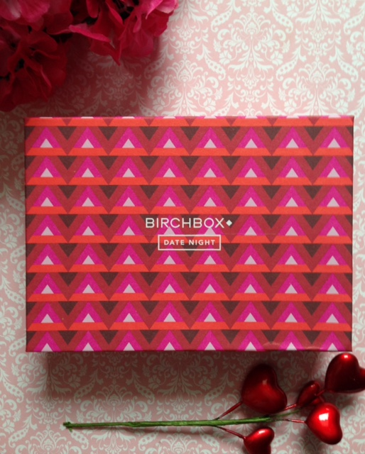 "Birchbox ""Date Night"" February 2016 neversaydiebeauty.com @redAllison"