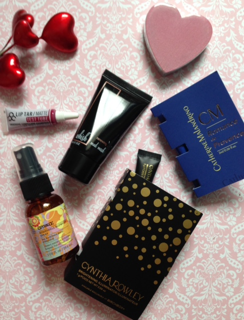 "Birchbox ""Date Night"" February 2016 products I received neversaydiebeauty.com @redAllison"