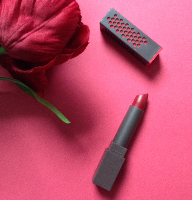 Burt's Bees Scarlet Soaked, a warm red shade neversaydiebeauty.com @redAllison