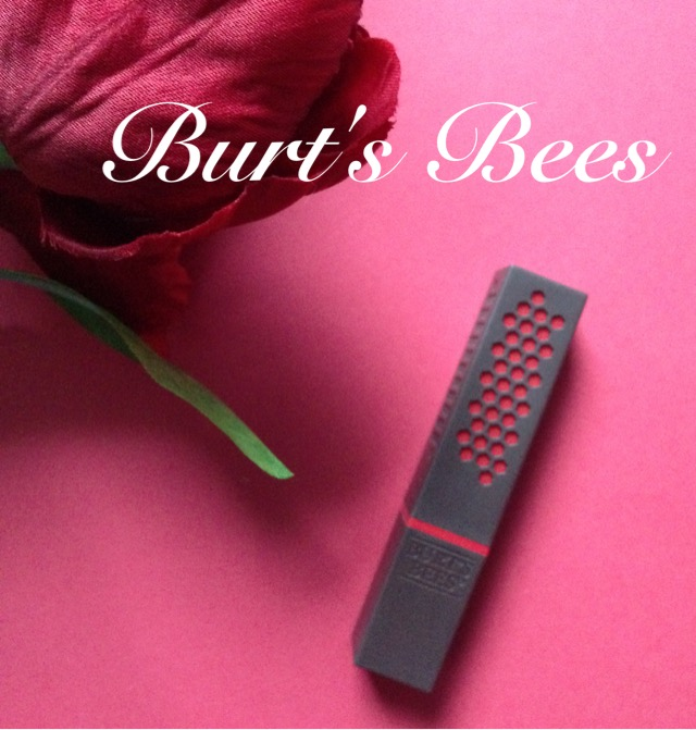 Burt's Bees Lipstick square tube neversaydiebeauty.com @redAllison