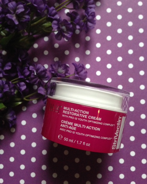 StriVectin Multi-Action Restorative Cream jar neversaydiebeauty.com @redAllison