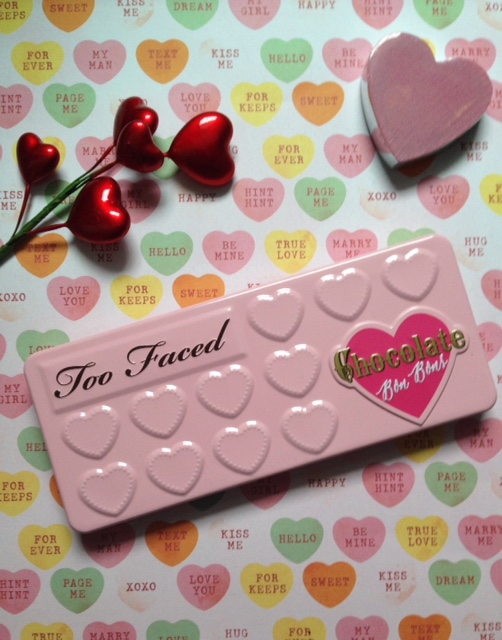 Too Faced Chocolate Bon Bons eyeshadow pink metal palette neversaydiebeauty.com @redAllison