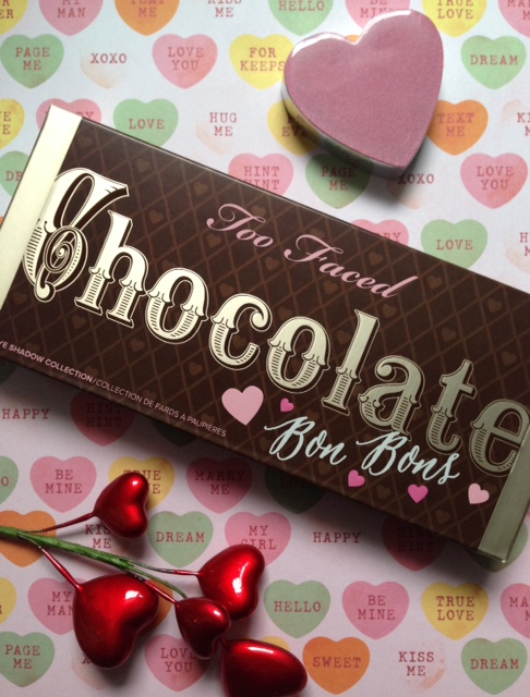 Too Faced Chocolate Bon Bons outer box neversaydiebeauty.com @redAllison