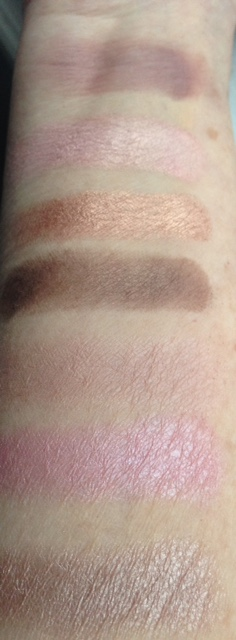 Too Faced Chocolate Bon Bons eyeshadow palette lighter swatches neversaydiebeauty.com @redAllison
