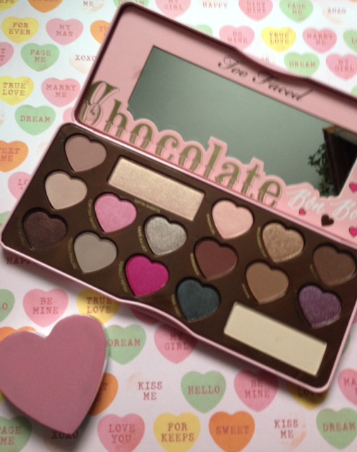 Too Faced Chocolate Bon Bons eyeshadow palette open neversaydiebeauty.com @redAllison