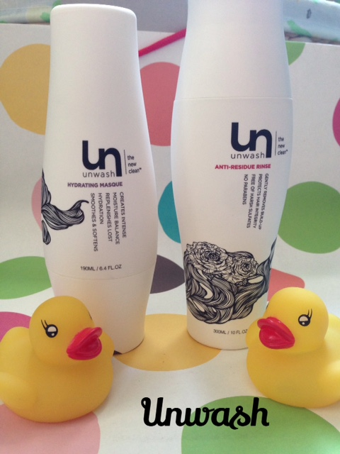 Unwash Hydrating Masque & Anti-Residue Rinse, cowashing hair products neversaydiebeauty.com @redAllison