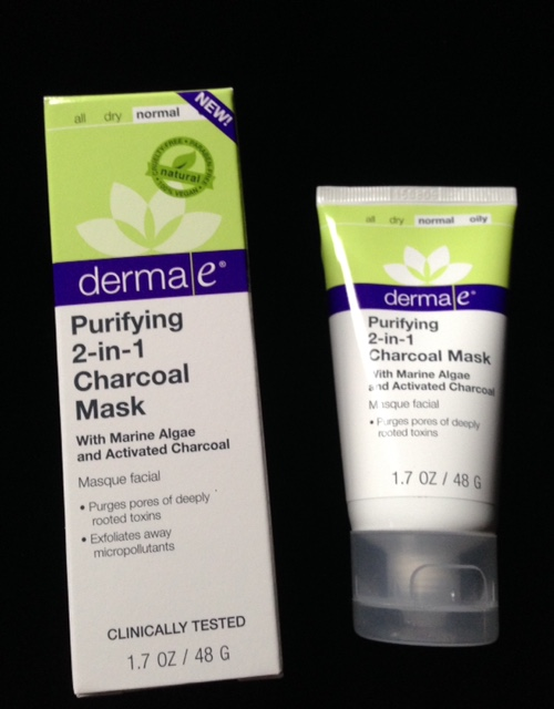derma e Purifying 2-in-1 Charcoal Mask neversaydiebeauty.com @redAllison