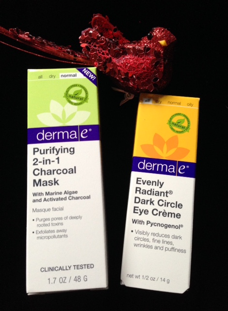 Derma e Evenly Radiant Dark Circle Eye Creme & Giveaway Purifying Charcoal Mask