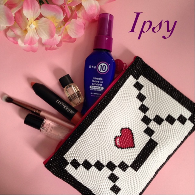 "Ipsy ""Pretty in #IpsyPink"" bag February 2016 neversaydiebeauty.com @redAllison"