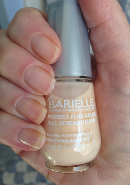 Barielle Protect Plus Color Nail Strengthener neversaydiebeauty.com @redAllison