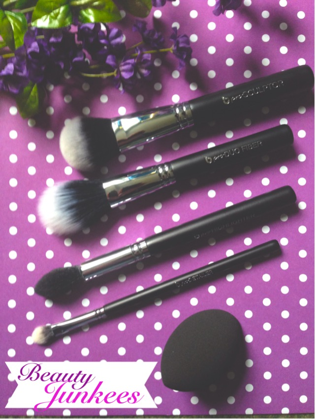 Beauty Junkees Contouring & Highlighting Makeup Brush Set neversaydiebeauty.com @redAllison