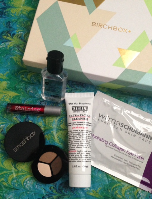 contents of my Birchbox for March 2016 neversaydiebeauty.com @redAllison