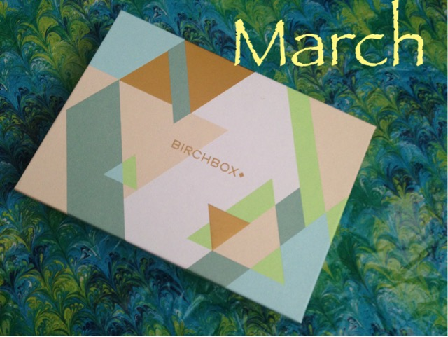 Birchbox March 2016 neversaydiebeauty.com @redAllison