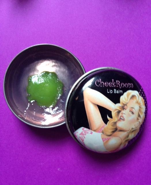 Cheek Boom Lip Balm, a Korean brand neversaydiebeauty.com @redAllison