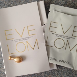 Eve Lom Age Defying Smoothing Treatment ampules neversaydiebeauty.com @redAllison