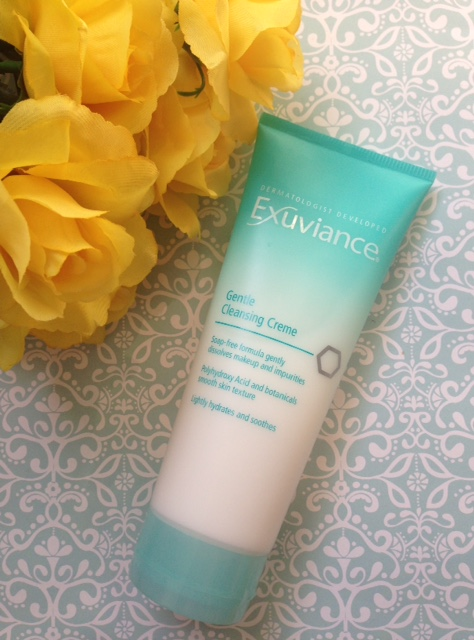 Exuviance Gentle Cleansing Creme tube neversaydiebeauty.com @redAllison