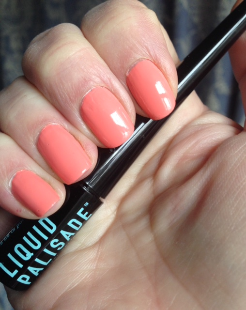manicure after using Liquid Palisade to prevent mistakes neversaydiebeauty.com @redAllison