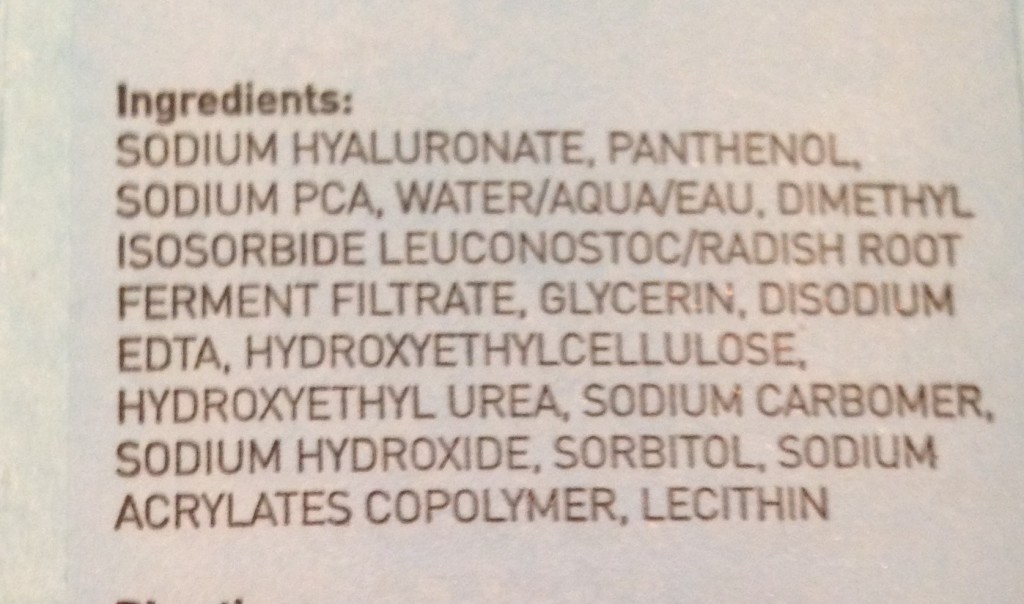 ingredients in MDSun Super Hydration B Serum neversaydiebeauty.com @redAllison