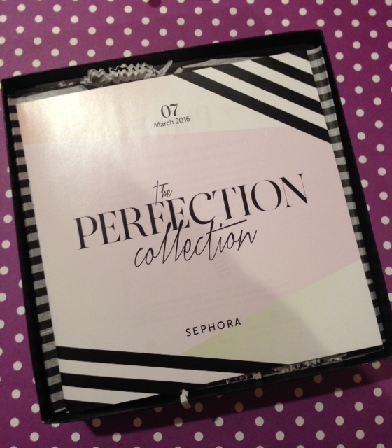 March, The Perfection Collection, box Sephora Play! neversaydiebeauty.com @redAllison