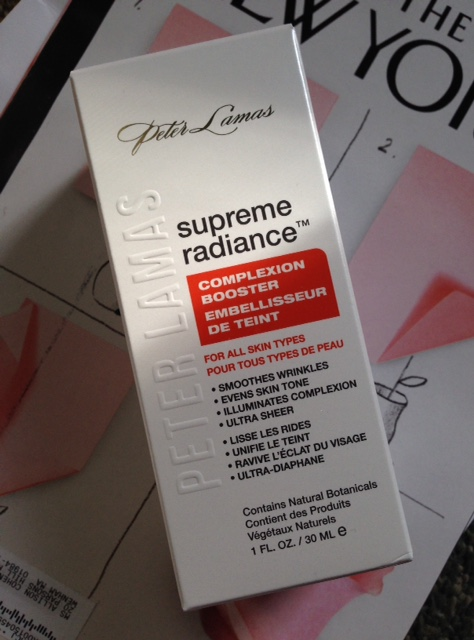 Peter Lamas Supreme Radiance Complexion Booster box neversaydiebeauty.com @redAllison