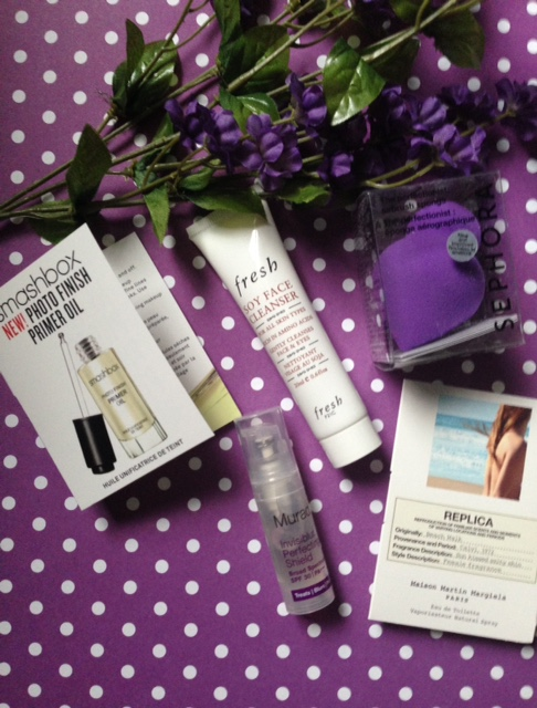 Sephora March subscription box contents, beauty products neversaydiebeauty.com @redAllison